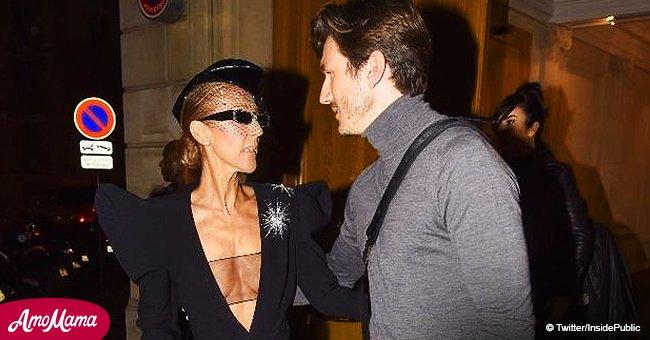Céline Dion ose un décolleté accrocheur pour une sortie avec Pepe Munoz (Photos)