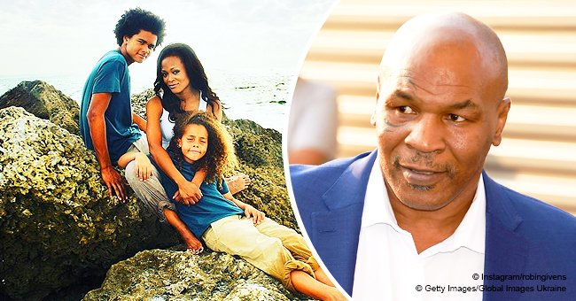 Remember Mike Tyson's Alleged 'Gold Digger' Ex Robin Givens? Her Sons Are All Grown up in Photo