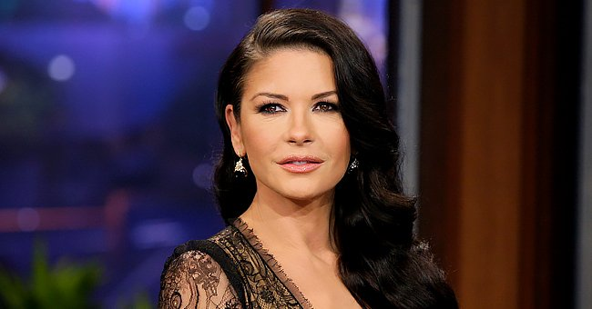 Watch a Gorgeous Catherine Zeta-Jones Show off Her Moves as She Dances in a Wide-brimmed Hat