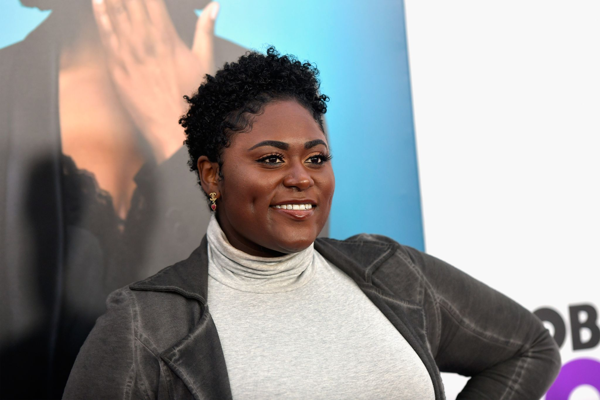 """Danielle Brooks at the world premiere of """"Nobody's Fool"""" on October 28, 2018 in New York. 
