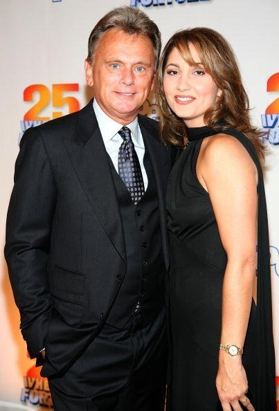 Pat Sajak and Lesley Brown Sajak at Radio City Music Hall September 27, 2007 in New York City. | Photo: Getty Images