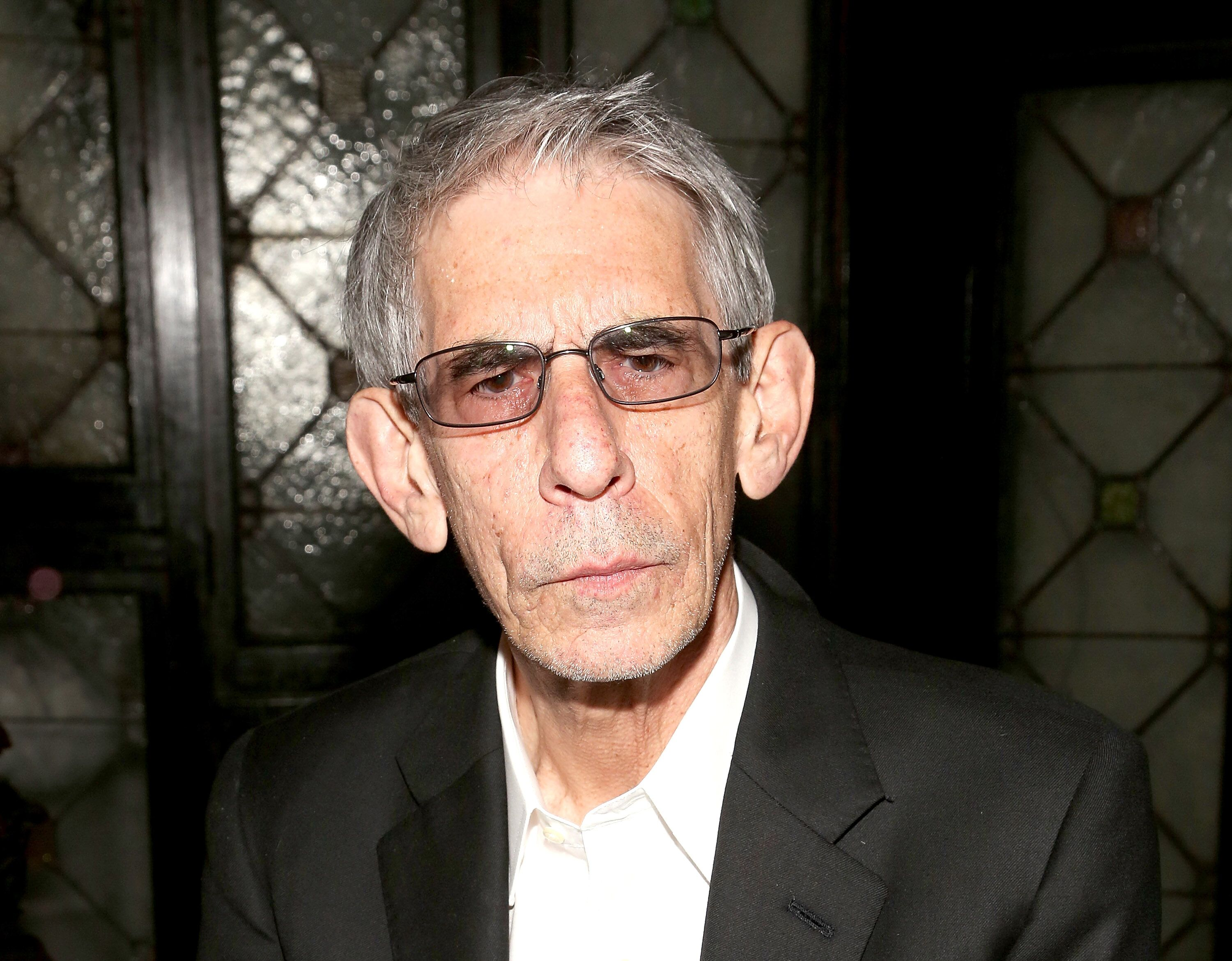 """Richard Belzer attends the Friars Club celebration of Jerry Lewis and the 50th anniversary """"The Nutty Professor."""" 