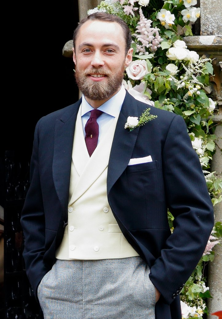 James Middleton assiste au mariage de Pippa Middleton et James Matthews. | Source: Getty Images
