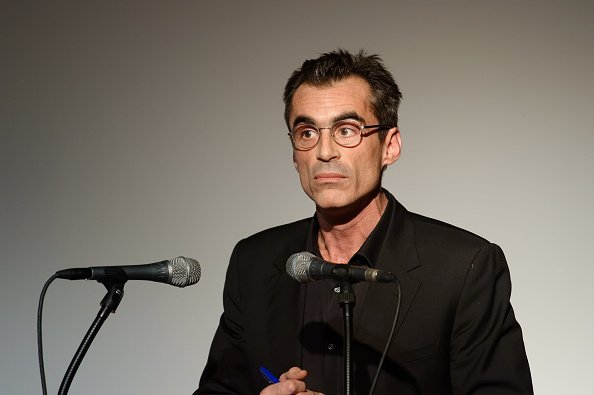 Raphael Enthoven gives a talk during the meeting of new political party - Le Printemps Republicain - November 30, 2019, Paris.   Photo : Getty Images