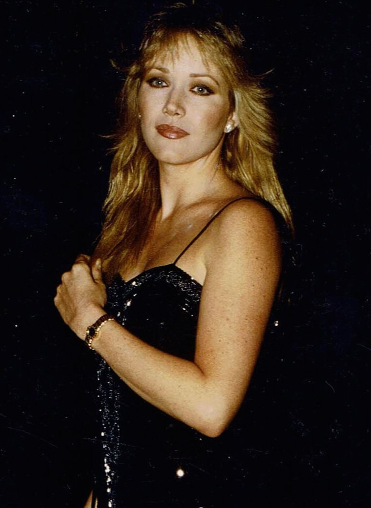 """Publicity photo of Tanya Roberts ca. 1982 in promotion of """"Charlie's Angels."""" 