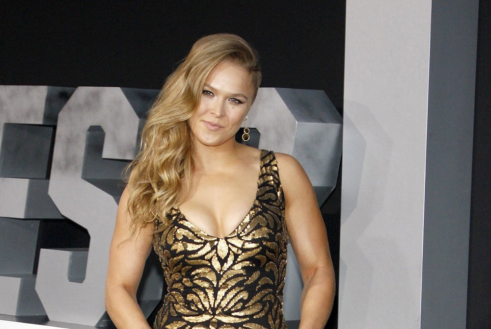 "Ronda Rousey at the Los Angeles premiere of ""The Expendables 3"" held at the TCL Chinese Theatre in Los Angeles on August 11, 2014 in Los Angeles, California. I Image: Getty Images."