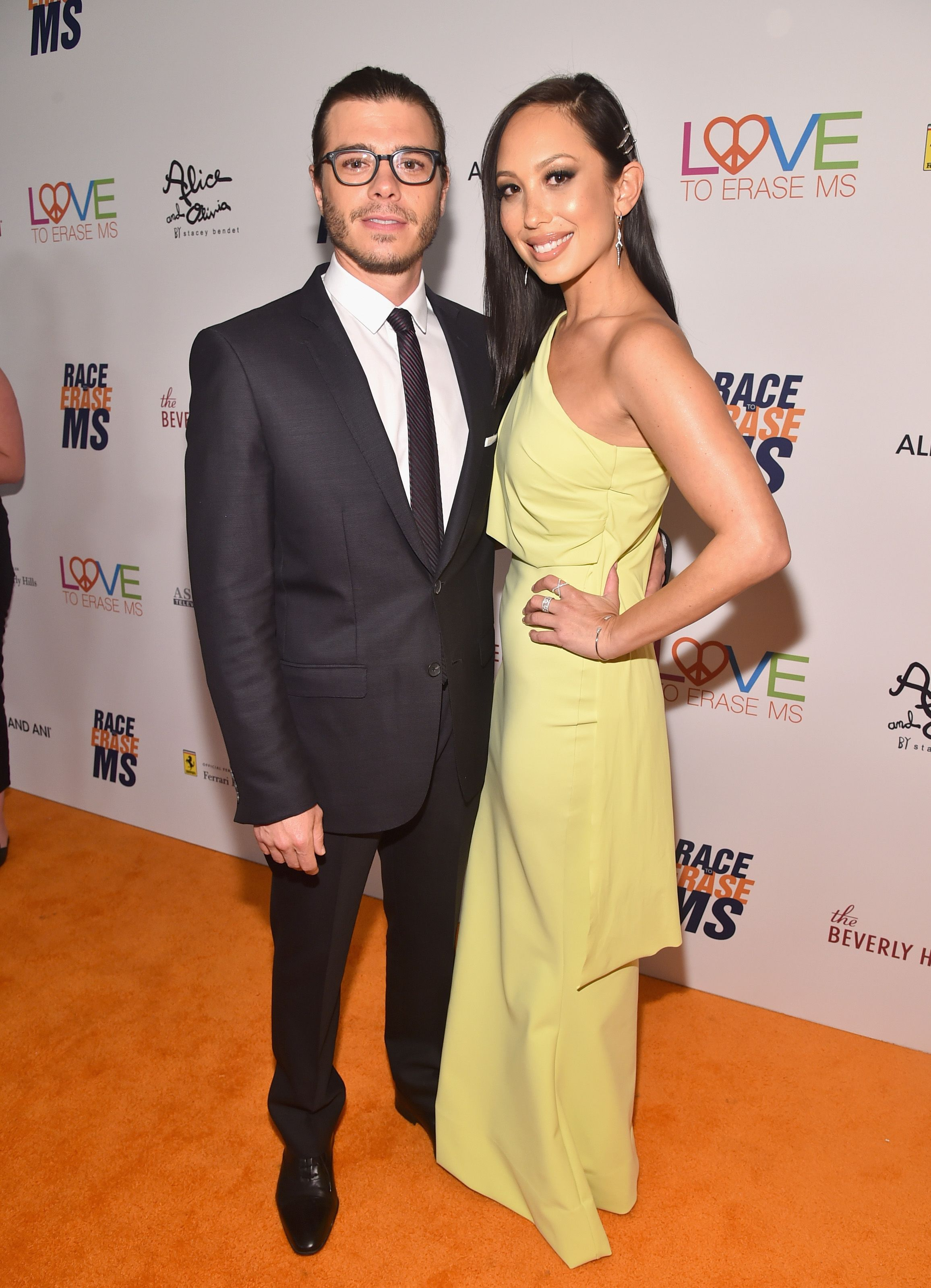 Matthew Lawrence and Cheryl Burke attend the 25th Annual Race To Erase MS Gala in 2018 in Beverly Hills | Source: Getty Images