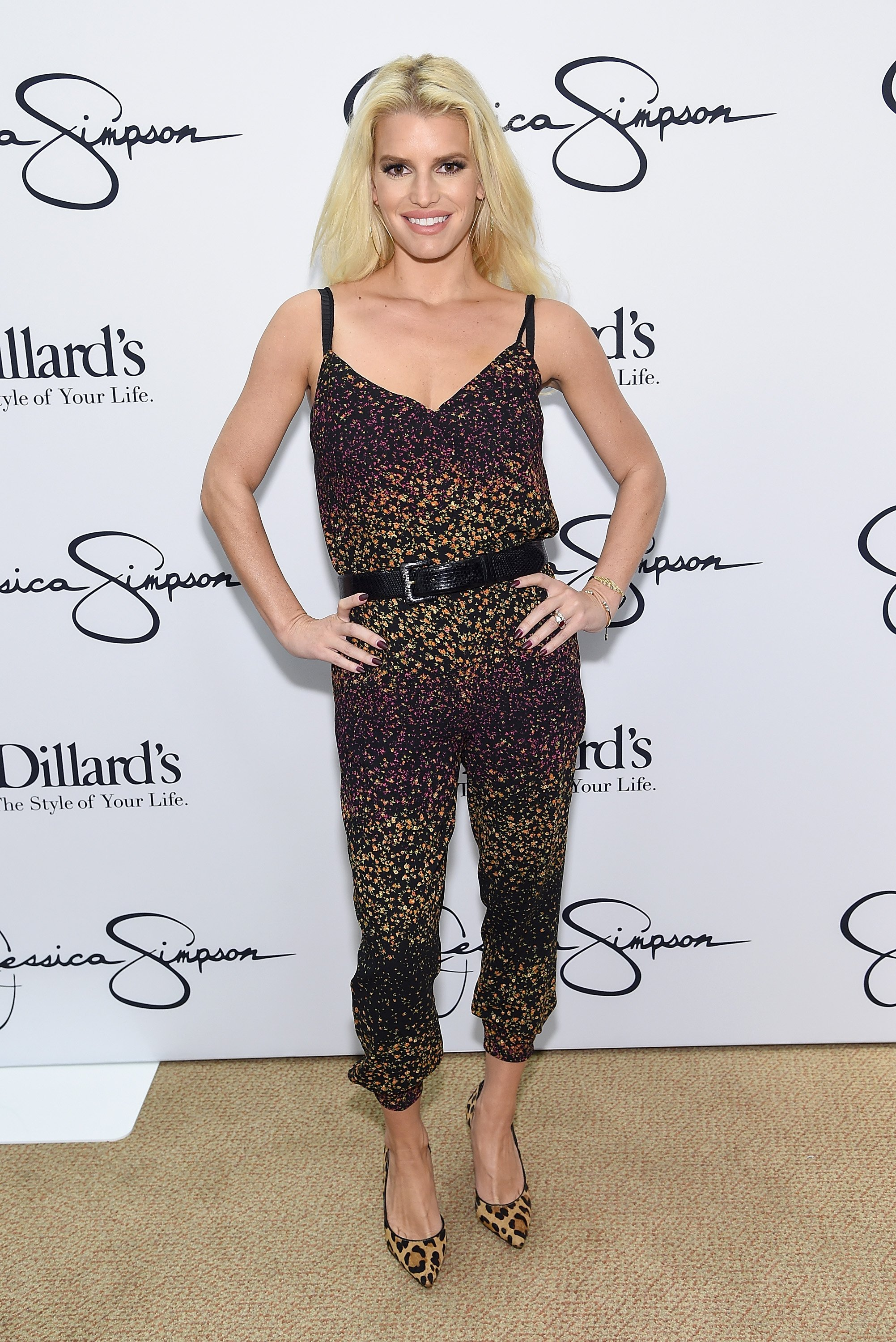 Jessica Simpson at Dillard's Perimeter Mall on October 11, 2014 in Atlanta, Georgia. | Source: Getty Images.