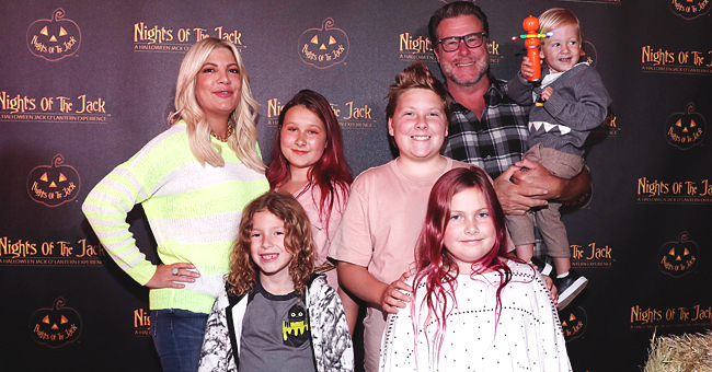 Tori Spelling of BH90210 Fires Back at Internet Trolls after She Was Criticized for Her Kids' Pink Hair