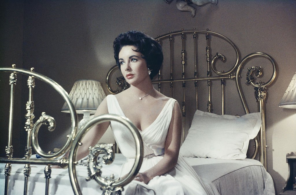 Actress Elizabeth Taylor (1932 - 2011) stars in the MGM film, 'Cat On A Hot Tin Roof', 1958. | Source: Getty Images