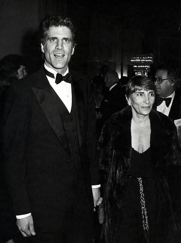 Ted Danson and Casey Coates during 40th Annual Golden Globe Awards at Beverly Hilton Hotel in Beverly Hills, CA, United States, in 1983. | Source: Getty Images