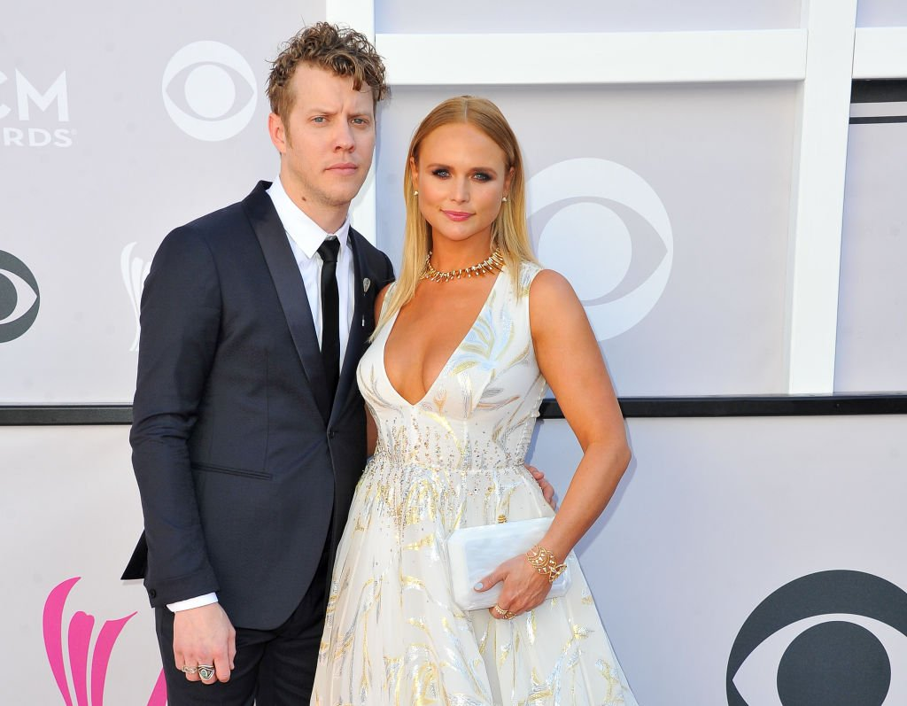 Anderson East  and Miranda Lambert arrive at the 52nd Academy Of Country Music Awards on April 2, 2017 | Photo: GettyImages