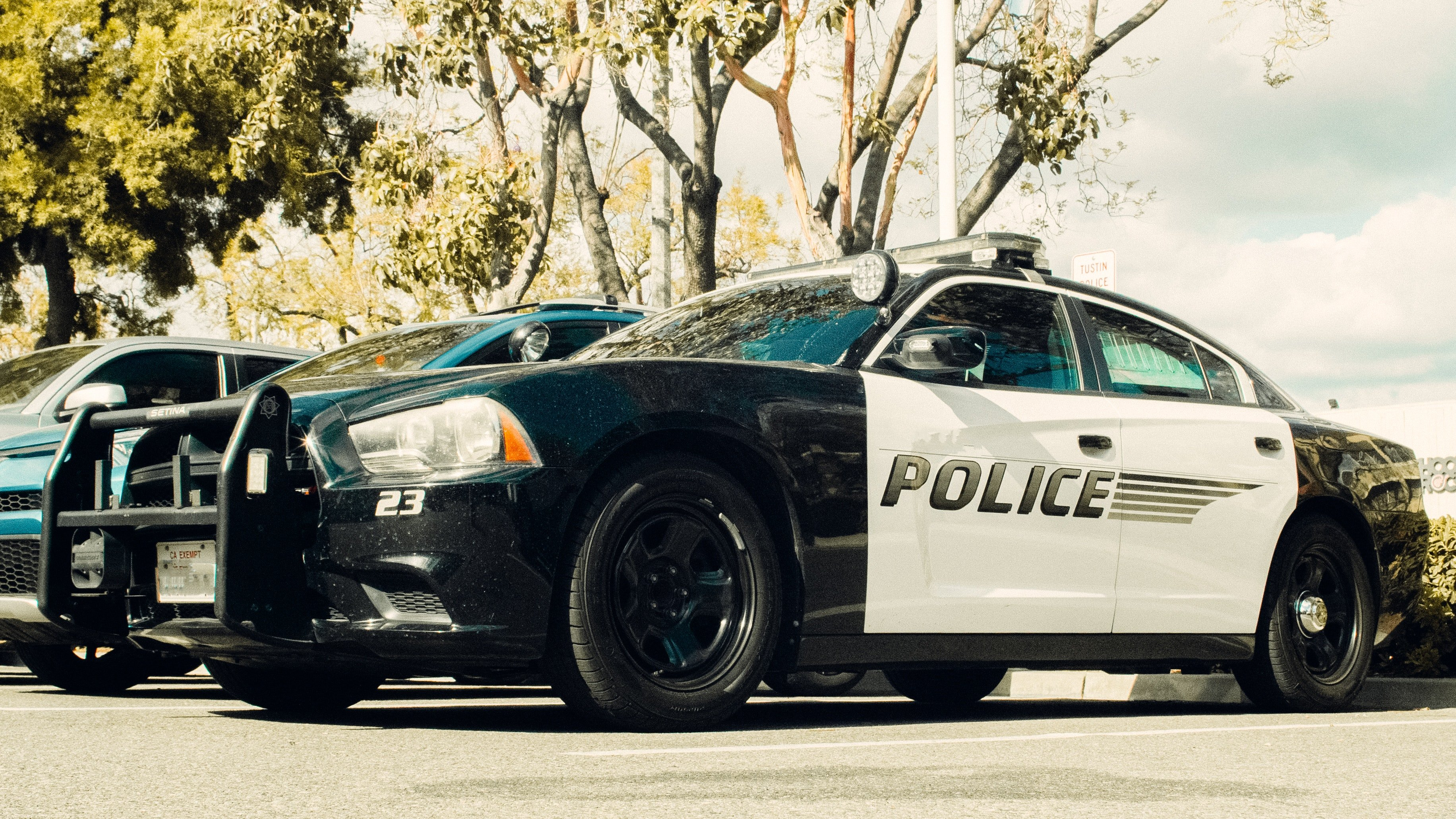 Pictured - A photo of a parked black and white police vehicle | Source: Pexels