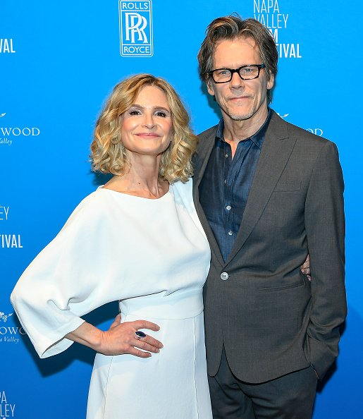 Kyra Sedgwick and Kevin Bacon at the Lincoln Theatre on November 13, 2019 in Napa, California. | Photo: Getty Images