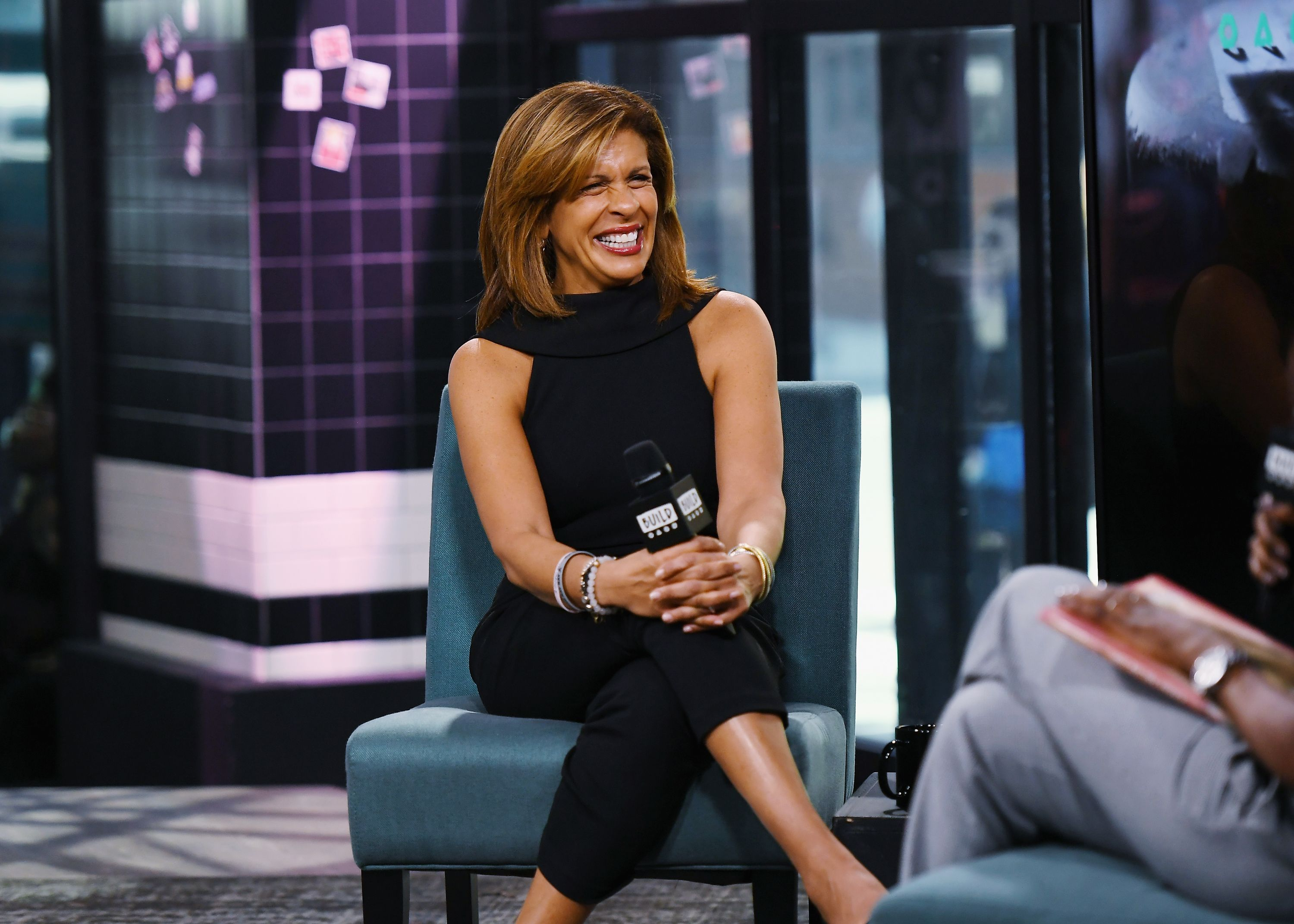 "Hoda Kotb at the Build to discuss her new book ""You Are My Happy"" at Build Studio on March 12, 2019 