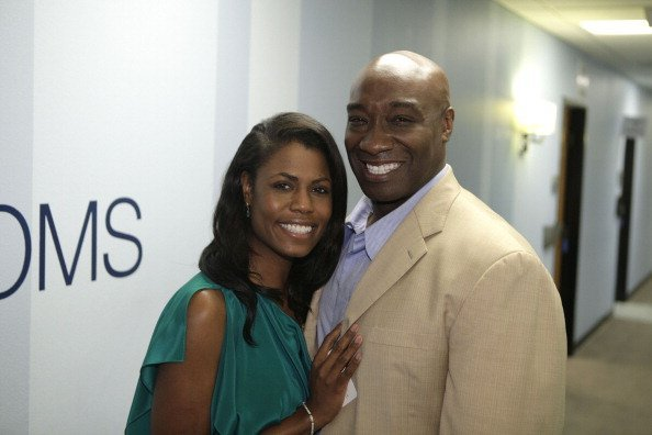 Omarosa Manigault-Stallworth and actor Michael Clarke Duncan on February 20, 2012 | Photo: Getty Images