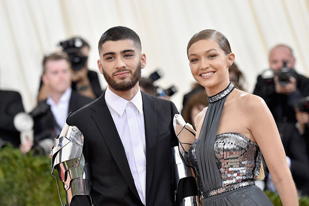 "Zayn Malik and Gigi Hadid attend the ""Manus x Machina: Fashion In An Age Of Technology"" Costume Institute Gala on May 2, 2016, in New York City. 