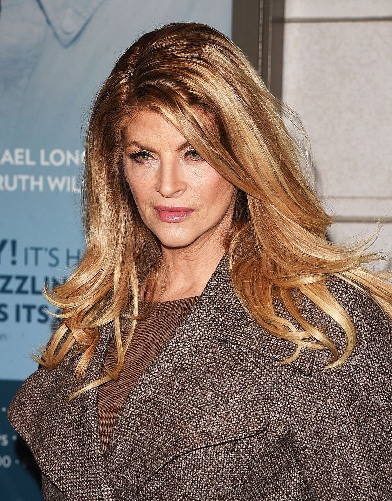 """Kirstie Alley attends Broadway's """"Constellations"""" in New York City on January 13, 2015 