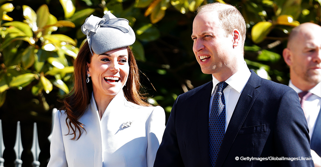 Kate Middleton Steals the Show During Easter Service With Her Perfect Blue Ensemble