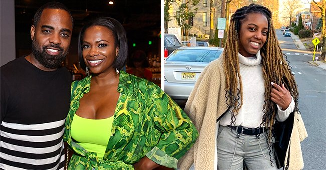 Kandi Burruss' Stepdaughter Kaela Slays in Black Jacket, Mini-Skirt & Thigh-High Boots in Short Clip
