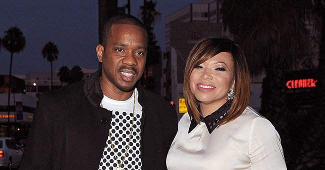 'Martin' Actress Tisha Campbell Enjoys a Family Trip in Canada with Her Sons Ezekiel and Xen