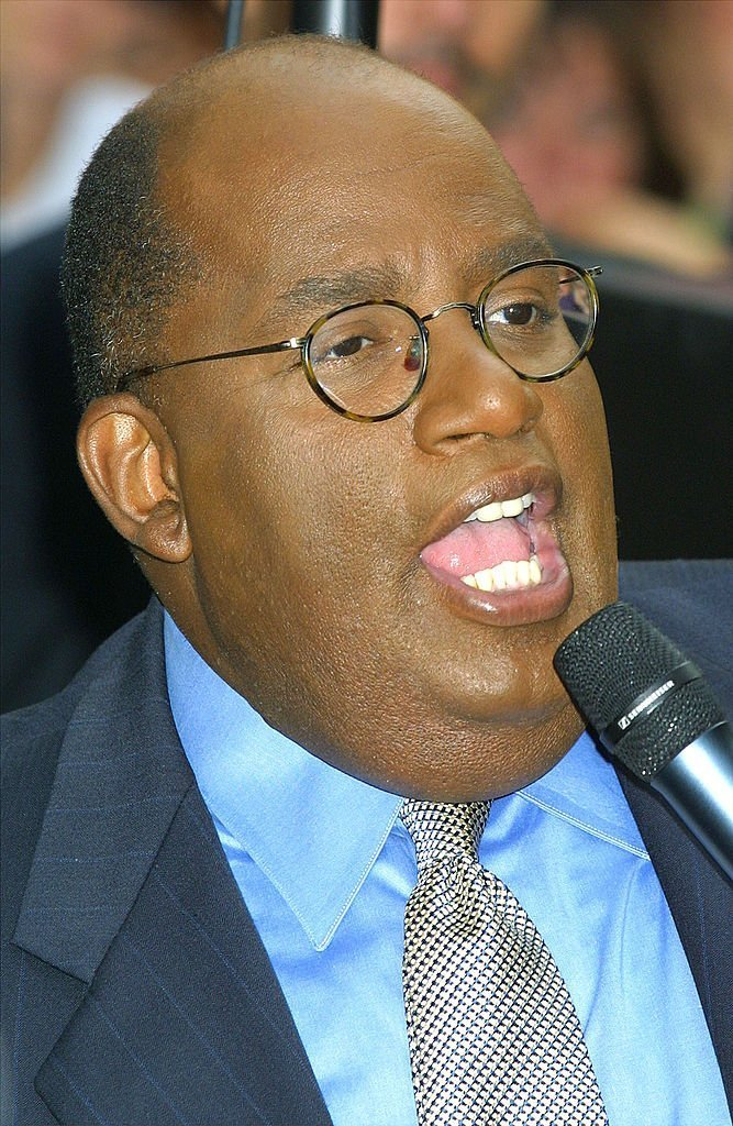 Al Roker on August 10, 2001 at Rockefeller Center in New York City | Source: Getty Images