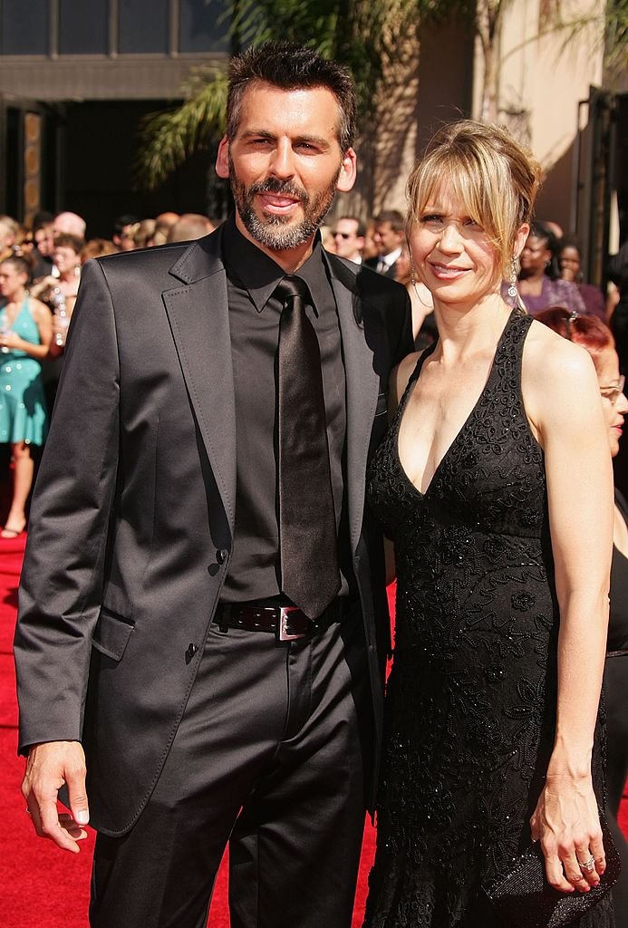 Oded Fehr and wife Rhonda Tollefson arrives at the 58th Annual Primetime Emmy Awards at the Shrine Auditorium  | Getty Images
