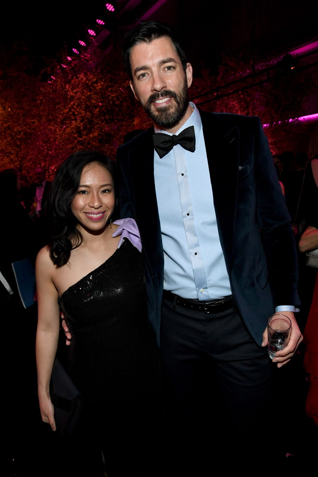inda Phan and Drew Scott at PEOPLE's Annual Screen Actors Guild Awards Gala at The Shrine Auditorium on January 19, 2020. | Getty Images