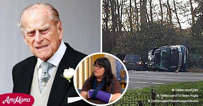 Eine Frau, die in dem Autounfall mit Prinz Philip involviert war, sagte, sie bekam immer noch keine Entschuldigung von Prinz Philip