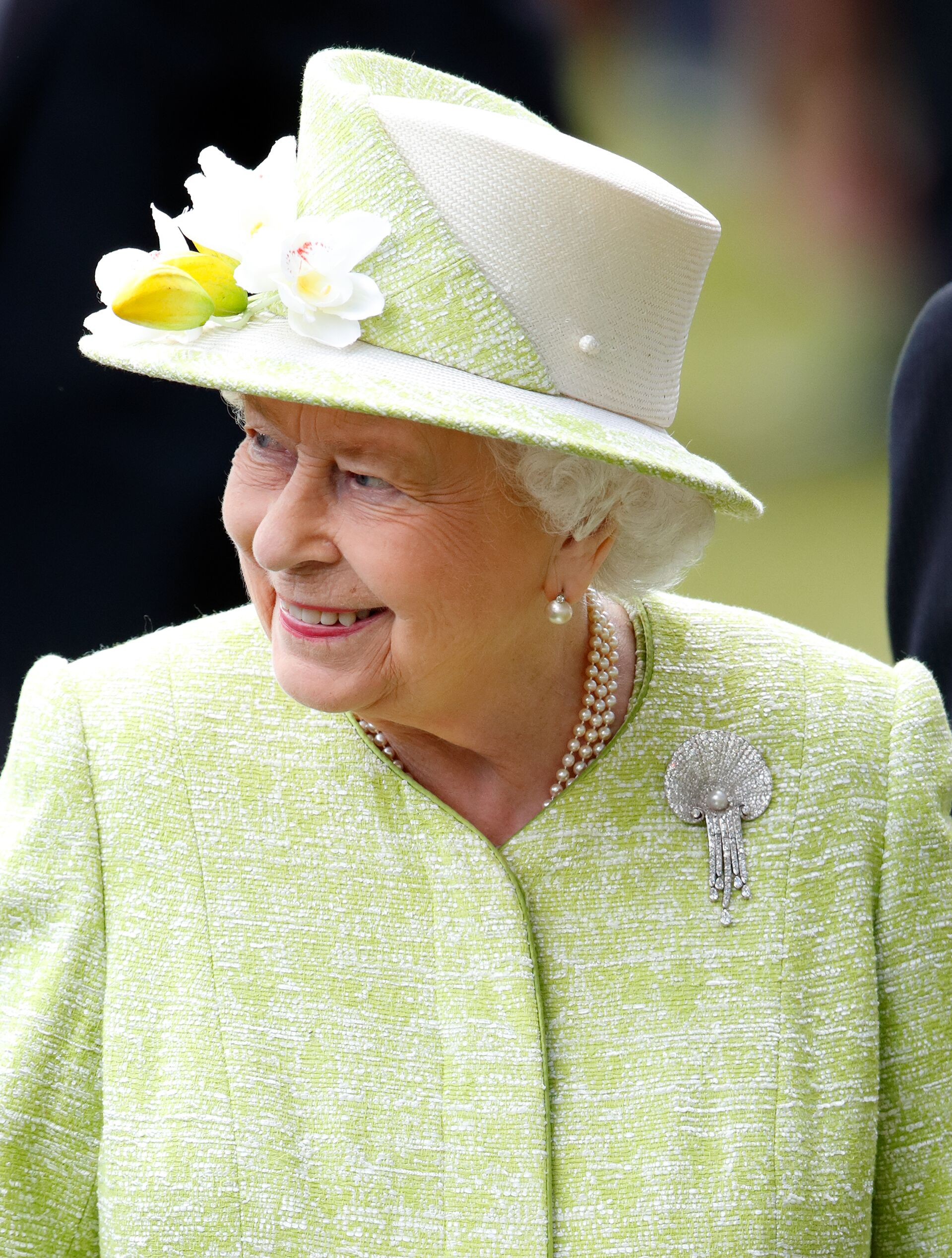 Queen Elizabeth II attends the Royal Ascot.   Source: Getty Images