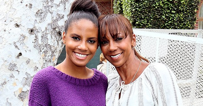 See Holly R Peete's Daughter Ryan Show off Her Interesting Purple Braids in New Photos