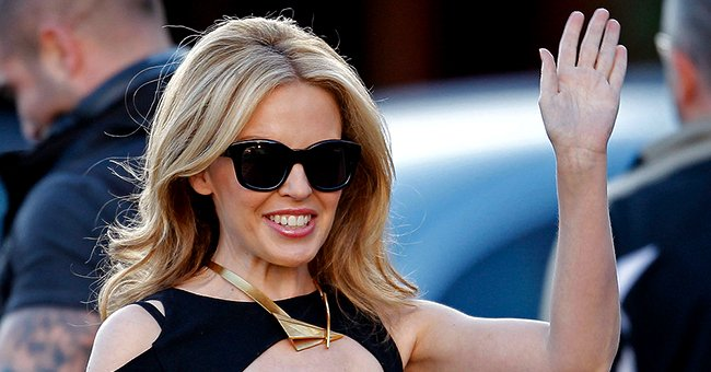 """Kylie Minogue Arrives At """"Hey Hey It's Saturday"""" at the Channel 9 Studios in Melbourne Australia, July 2010 