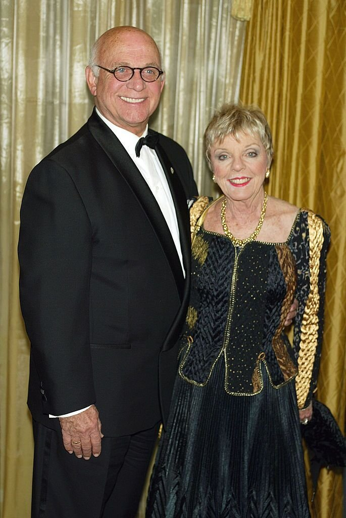 Gavin MacLeod and his wife Patty at the 11th Annual Movieguide Awards in Beverly Hills in 2003 | Source: Getty Images