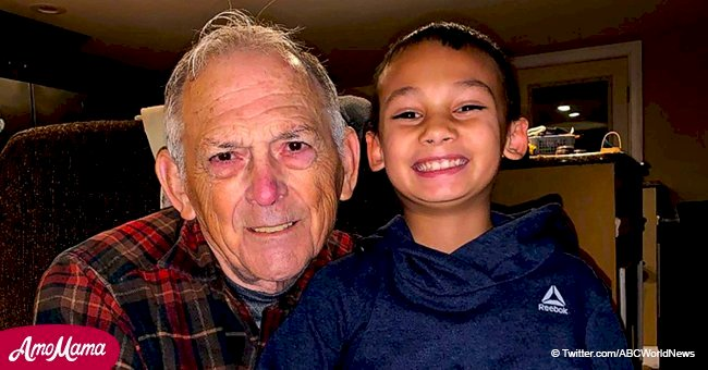 9-year-old grandson saves his dying grandfather's life by calling 911 in urgent situation
