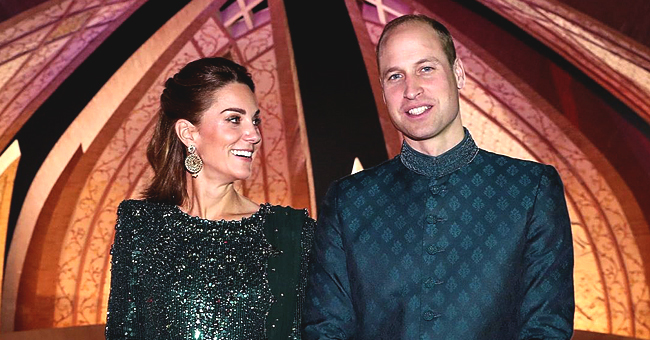 Kate Middleton Dazzles in $4,460 Glittering Emerald Green Gown during Outing in Pakistan