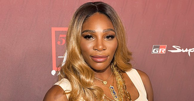 Watch New Video of Serena Williams & Daughter Olympia on the Court during Their Tennis Practice