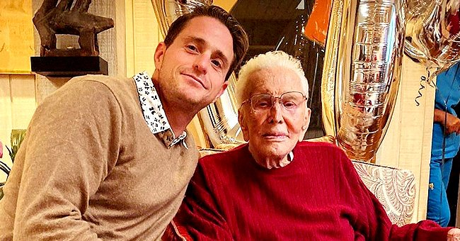 Kirk Douglas' Grandson Cameron Reflects on His Late Grandad's Legacy & Impact the Actor Had on His Life