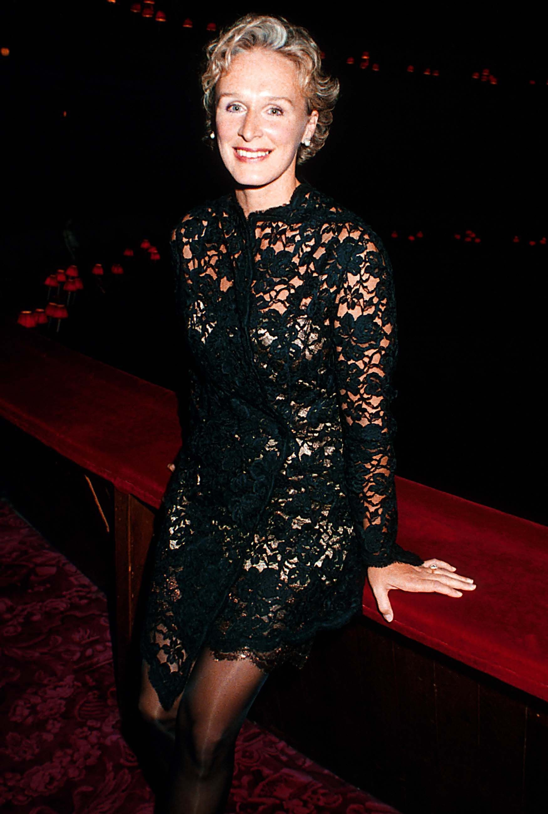 "Glenn Close during the UK Premiere of ""Meeting Venus"" in September 1991 in London, England. 