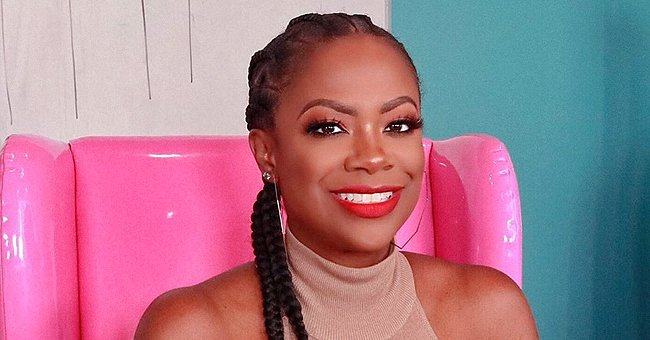 Kandi Burruss' Daughter Blaze Flashes Sweet Smile as Mom Shares Pics of Her Baby in Hair Bows