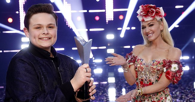 People: 'The Voice' Winner Carter Rubin, 15, Says Gwen Stefani Was like a Mother on the Show