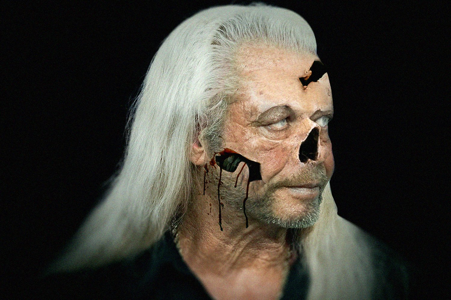 """Duane """"Dog"""" Chapman as a zombie 