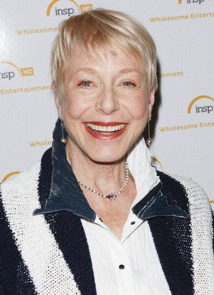 Actress Karen Grassle attends the Cable Show in California in 2014    Photo: Getty Images.