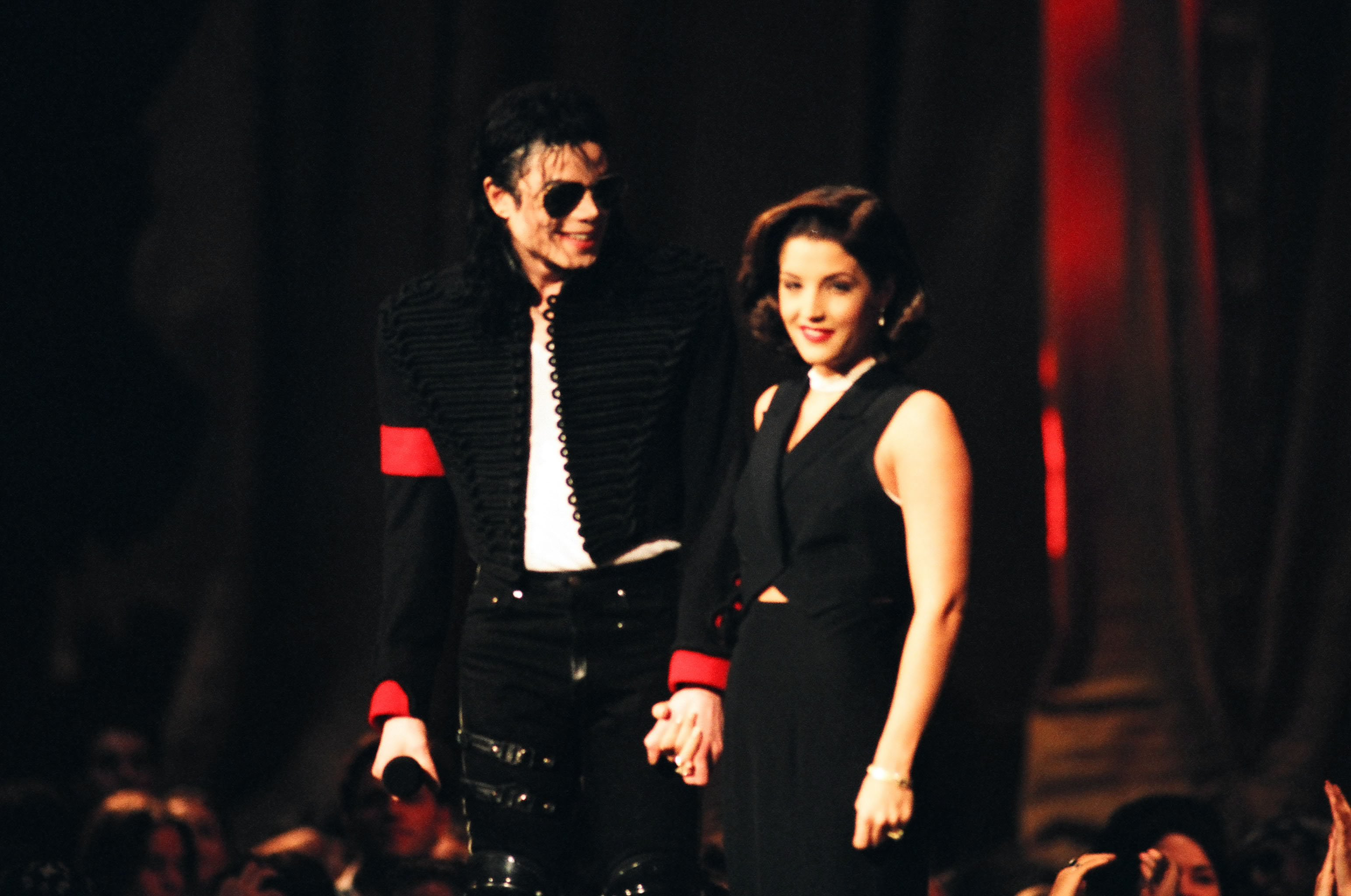 Michael Jackson and Lisa Marie Presley on September 7, 1994 | Photo: Getty Images