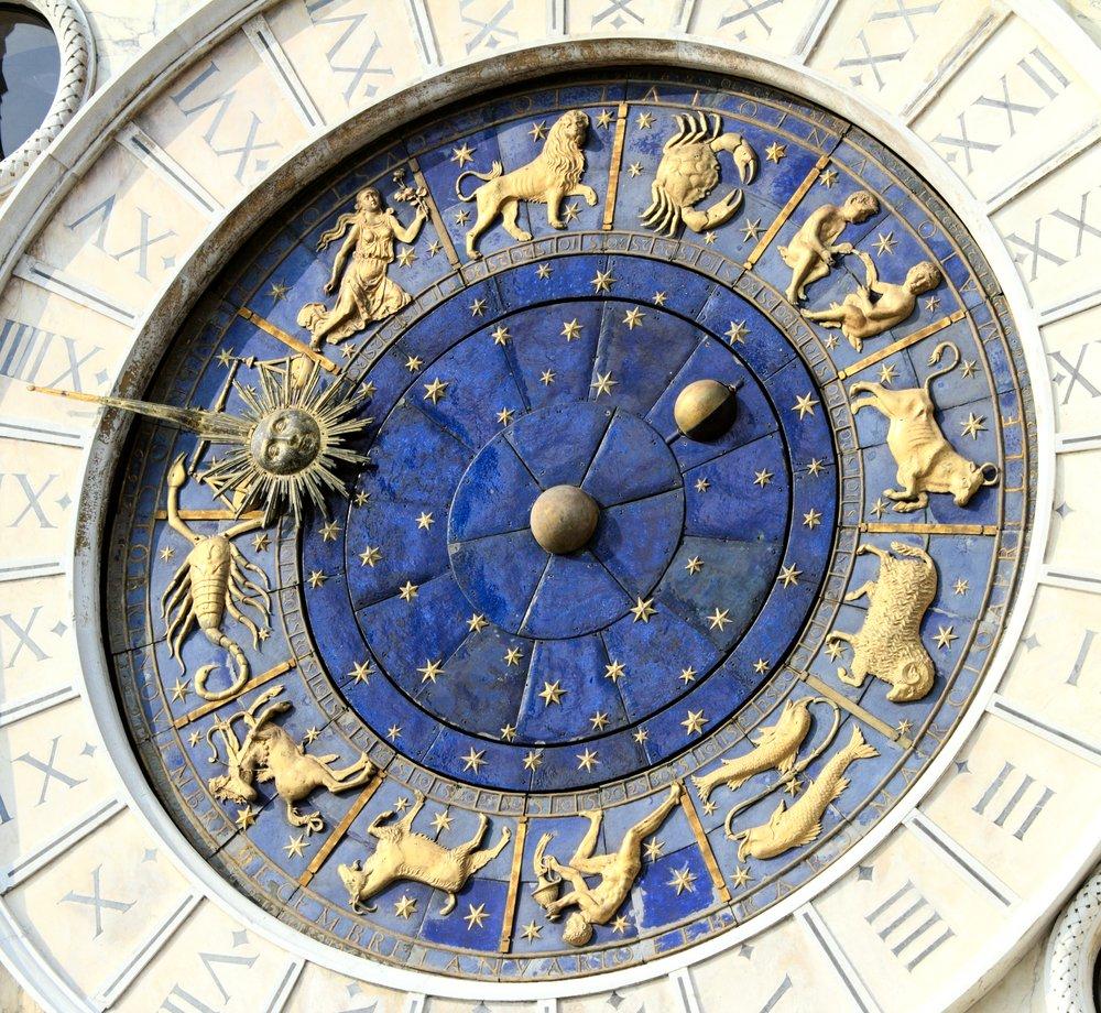 Torre del Reloj Astronómico (Torre dell'Orologio) , Plaza de San Marcos (Piazza San Marko), Venecia, Italia. | Fuente: Shutterstock