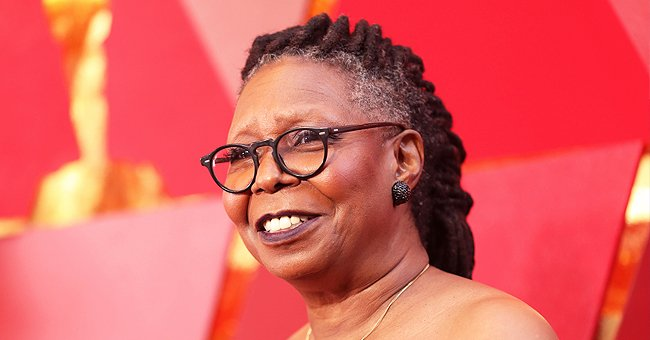 Whoopi Goldberg's Granddaughter Jerzey Shows Figure Posing at a Grocery Store in a Cut-Out Top