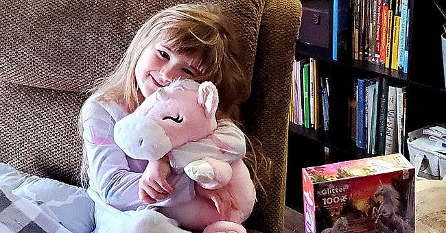 Little Girl Gets Unicorn from Mailman after Asking for One in a Letter