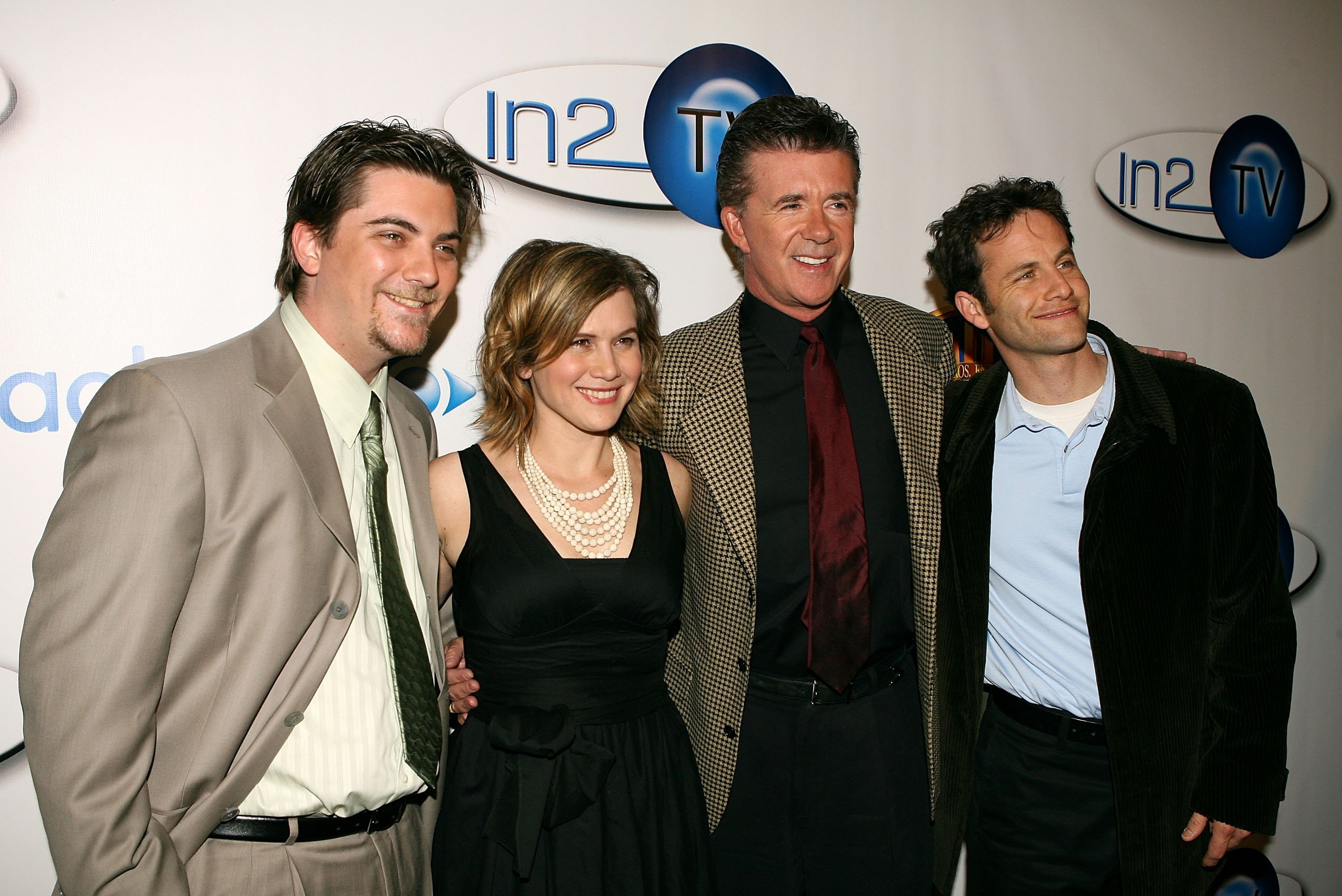 Jeremy Miller, Tracey Gold, Alan Thicke and Kirk Cameron at the Launch of In2TV at the Museum of TV & Radio on March 15, 2006 | Photo: GettyImages