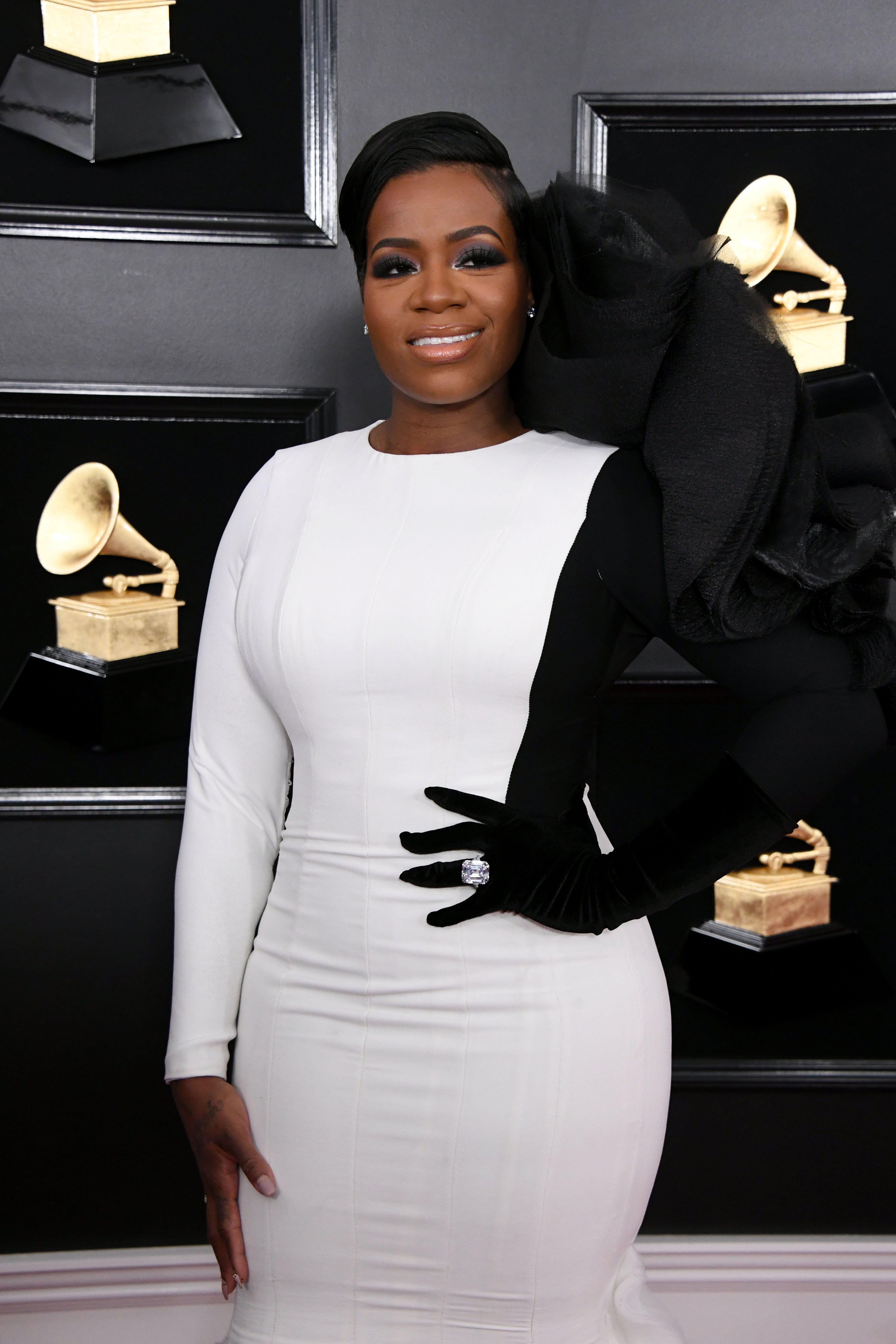Fantasia Barrino at the 61st Annual Grammy Awards on February 10, 2019 in Los Angeles, California   Photo: Getty Images