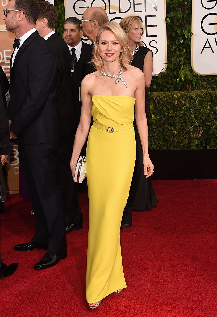 Naomi Watts attends the 72nd Annual Golden Globe Awards at The Beverly Hilton Hotel on January 11, 2015 | Photo: Getty Images