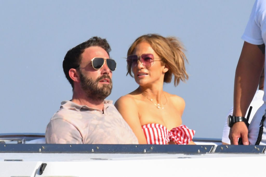 Ben Affleck and Jennifer Lopez are seen on July 28, 2021 in Amalfi, Italy. | Source: Getty Images